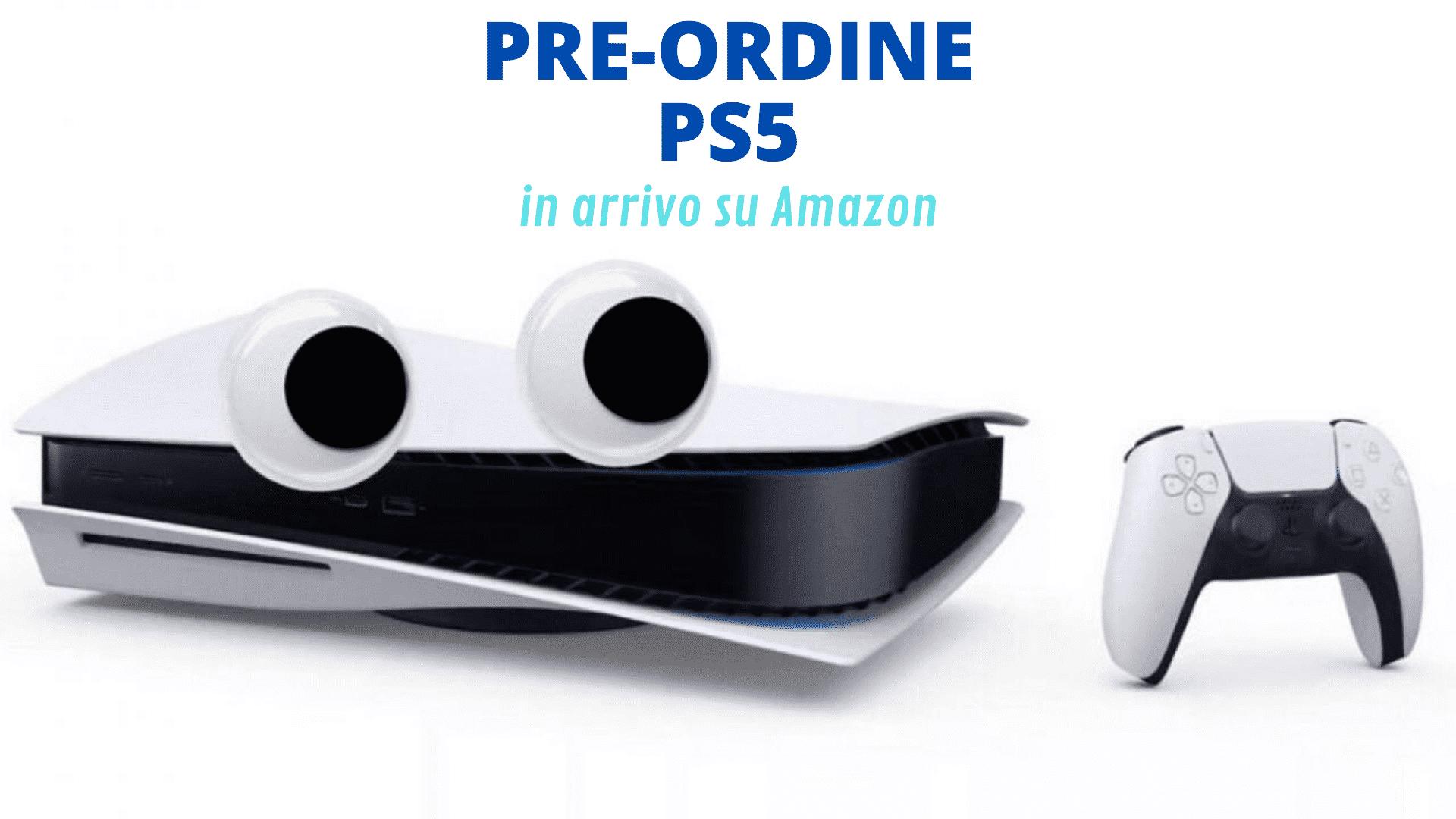 Preordine PS5 su Amazon
