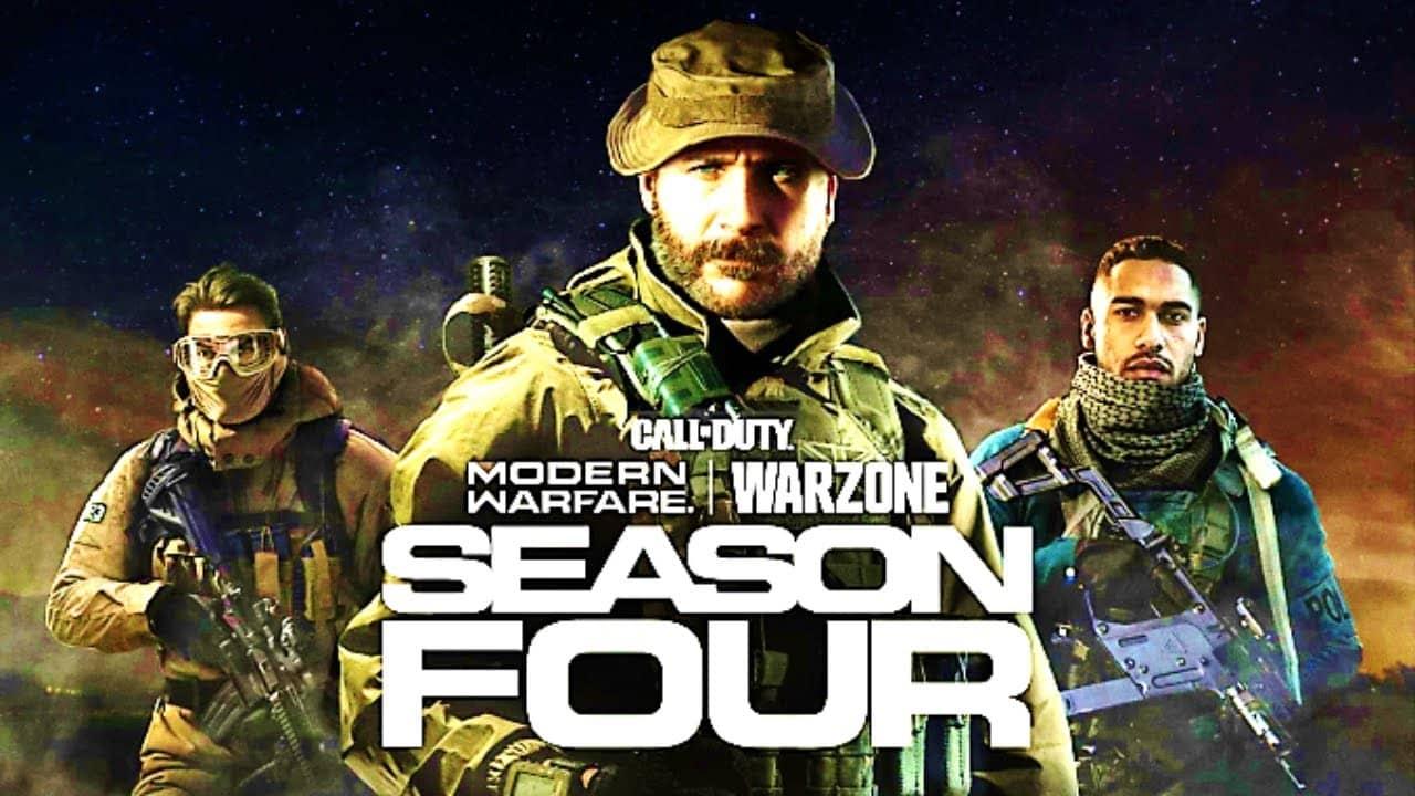 Call of Duty Modern Warfare Warzone Season 4