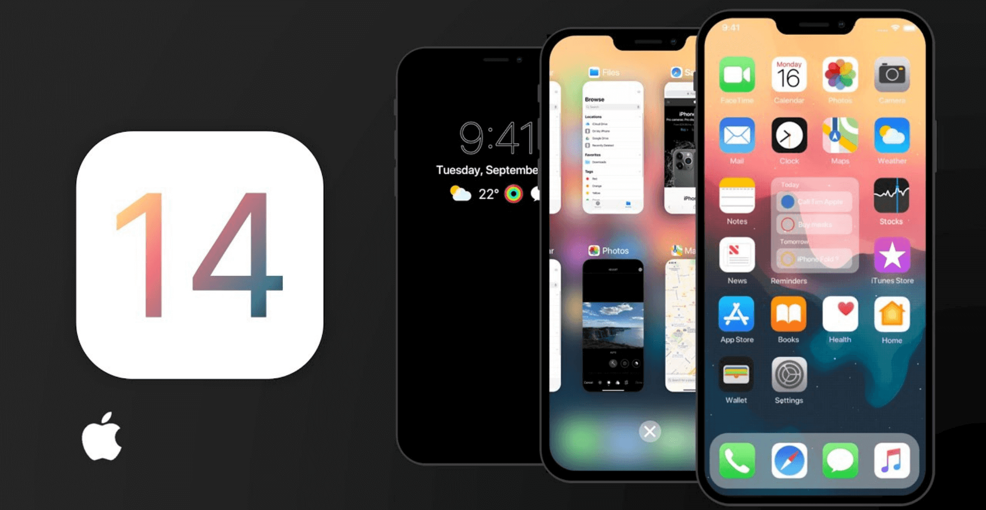 iOS 14 disponibile al download